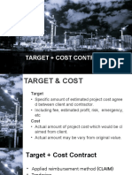 Target Cost Contract
