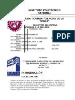 Topografía y Geología de Tejupilco de Hidalgo