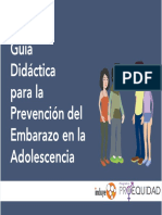 Guía  prevención del embarazo