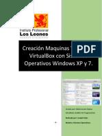 Step by Step Creacion Maquinas Virtuales en WinXP y Win7