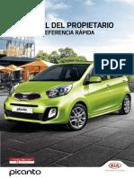 Guia Rapida de Manual de Propietario Picanto