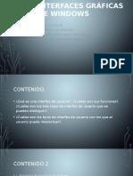 Interfaces Gráficas de Windows
