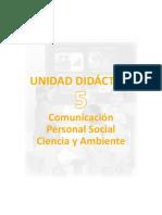 Unidad Didactica Integrada 4to Grado