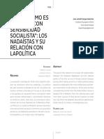 """""""El Nadaísmo es una flor con sensibilidad socialista"""""""