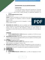 Farmacologia de Los Antiprotozoarios y Antihelmintos