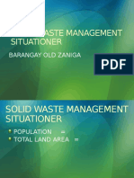 Solid Waste Management Situationer