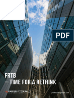 FRTB - Time to Rethink (Parker Fitzerald)