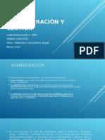 Administración y Gestión 1