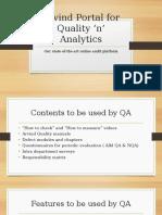 Online Audit Portal