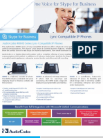 AudioCodes 400HD Series Lync-Compatible IP Phones