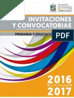 Invitaciones y Convocatorias Primaria16-17
