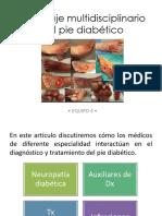 Pie Diabetic  os