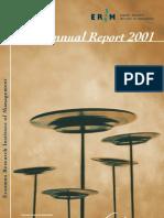 ERIM annual report 2001 final