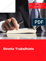 Direito Trabalhista Sua Peticao Secao 4