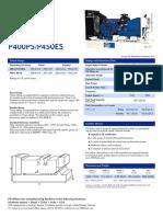 Especificaciones de Motor Perkins Pardo y Aliaga