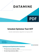 SOT Schedule Optimizer Tool