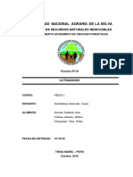 informe 04 ultrasonido