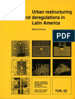 Urban Restructuring and Deregulations in Latin America
