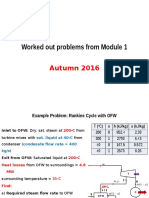 Worked Out Problems From Module 1 8th August