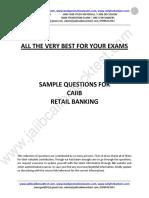 Caiib Retail Bnkng
