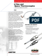 EGT and Wheel Space Thermocouple Data Sheet (1)