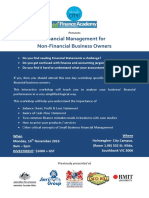 Financial Management for Non-Finance Business Owners - Workshop details