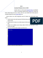Instalasi Windows Server 2003 R2