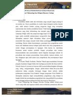 Proposal Kerja Praktek PVMBG