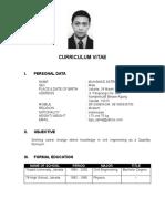 CV of Muhamad Satria Wijaya.doc