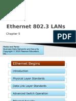 Chapter 5 Ethernet 802.3 LANs