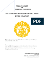Engineering Economic Project Report - Shandy Raditya Syahron (1206229585)