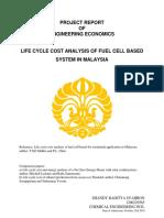 Engineering Economic Project Report - Shandy Raditya Syahron (1206229585)