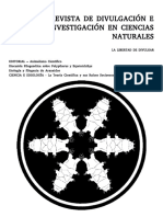 Volumen I (2013) - Revista de Divulgación e Investigación en Ciencias Naturales