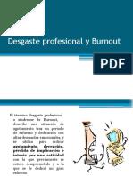 Desgaste Profesional y Burnout