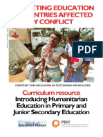 Humanitarian Education