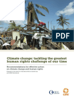 CARE and CIEL - Climate Change and Human Rights