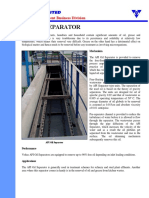 Equipment Catalogue API Oil Separator