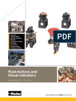 Push Buttons - PXB and PXV Series - Catalogue PDE2587TCUK