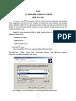 Bab 8 Instalasi FTP