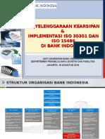 Pengelolaan Arsip Bank Indonesia