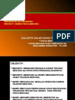 DISASTER - Strategi Pencegahan dan Perawatan Penyakit & Cedera Pasca Bencana 032016PSIK.pptx