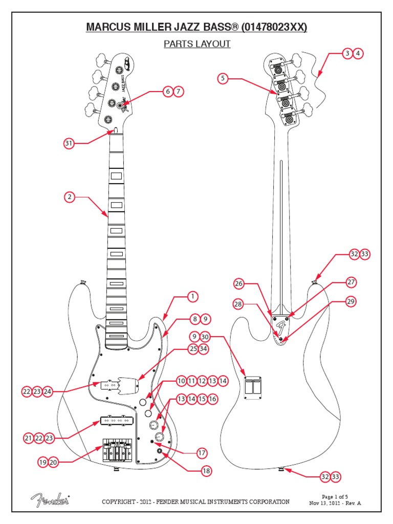 Marcus Miller Jazz BassScribd