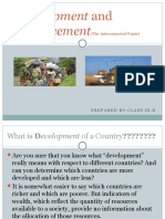 Development and Displacement(The  Interconnected Points).pptx