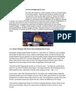 Alasan Mengapa Kita Harus Terus Mengujungi Al-Aqsa