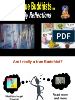 The True Buddhists ...My Reflections