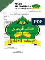 Undangan Majelis Talim Ar-rahman