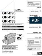 Manual Jvc Mini Dv Gr-d73