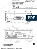 Kenwood Krf-5050d Service Manual