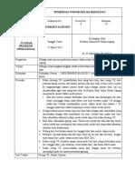 SPO Pemberian Nomor Rekam Medis Bayi