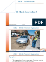 Ch. 5 Fresh Concrete, Segregation & Bleeding